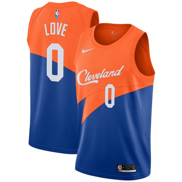 Camiseta Cleveland Cavaliers 2019 Azul Con Kevin Love 0