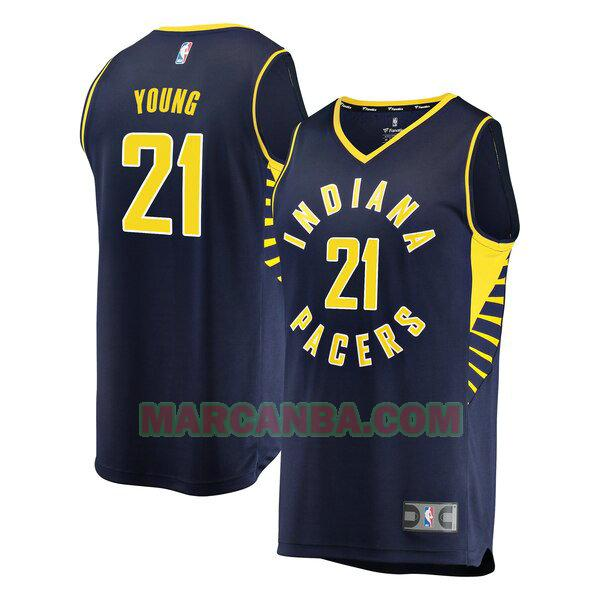 Camiseta Indiana Pacers Icon Edition Armada Thaddeus Young 21 Hombre