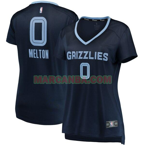 Camiseta Memphis Grizzlies icon edition Armada De'Anthony Melton 0 Mujer