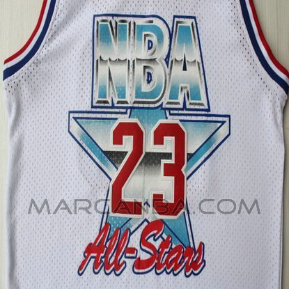 Camiseta Nba All Star 1992 Blanca Para Michael Jordan 23